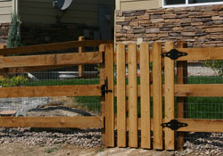 Colorado Fencing Styles Denver Fences Styling Residential Fence
